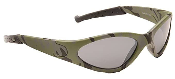 1cad0d9b1b34 Image Unavailable. Image not available for. Colour: Eye Level Boys Kids  Childrens Army Camo Sports Dark Combat Military Wrap Ski Sunglasses New