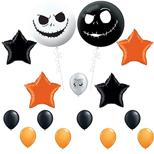 Jack Skellington Nightmare Before Christmas Party Supplies Balloon Decoration Set