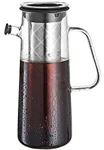 Amazon.com Osaka, Glass Cold Brew Coffee Maker - Fresh Cold-Brew Extract With A Unique ...