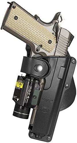 Gun holster for Rock Island Armory tactical 1911 with laser