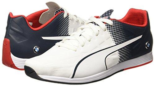 blanc homme bleu pour Baskets blanc Puma qRI6w6