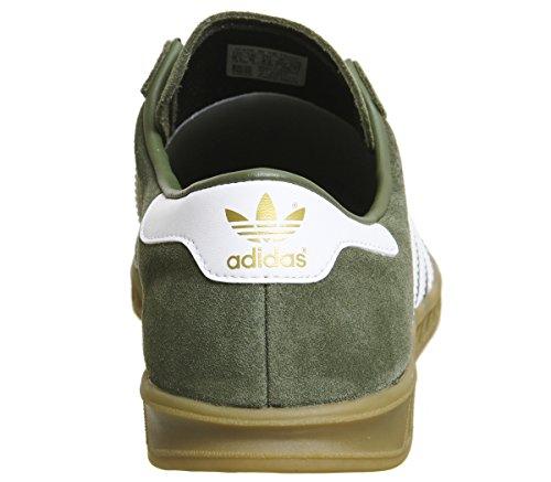 Adidas Khaki Hamburg White Blu Exclusive Sneaker vHdxqv