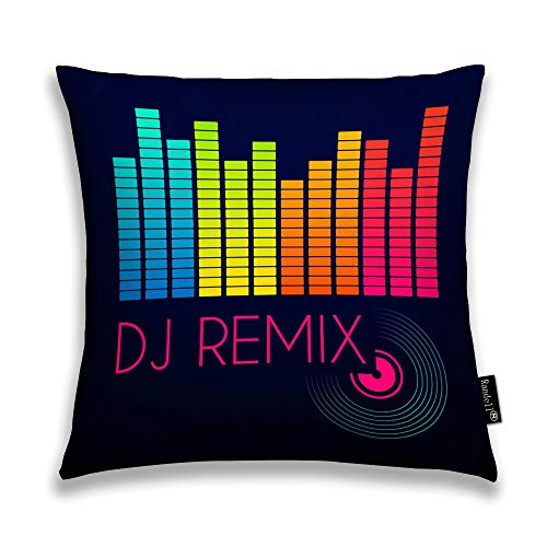Randell Throw Pillow Covers Dj Remix Home Decorative Throw Pillowcases Couch Cases 22