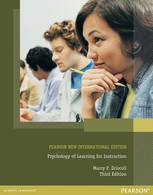 [Psychology of Learning for Instruction] (By: Marcy P. Driscoll) [published: November, 2013]