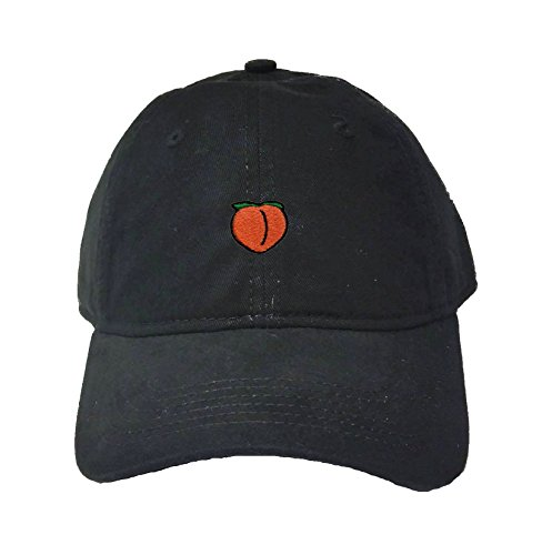 Go All Out Adult Peach Embroidered Deluxe Dad Hat