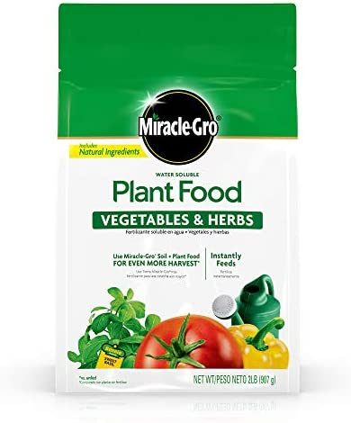 Miracle Gro Water Soluble Plant Vegetables product image