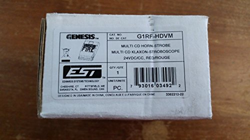 Edwards G1RF-HDVM- M/C Horn-Strobe (RED) Review