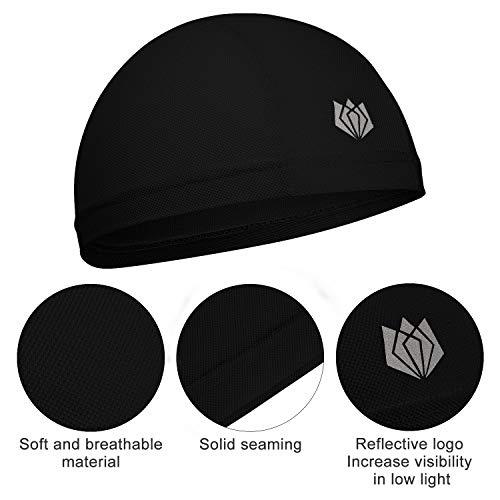 Tefiti Sports Fitness Skull Cap Moisture Wicking Cycling Helmets /& Headgear Liner Hat Beanies
