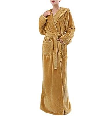 Nanxson TM Women's Winter Thick Flannel Nightdress Warm Nightgown Pajamas/Bathrobe SYW0079
