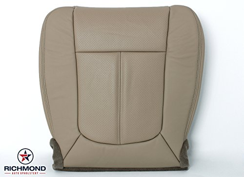 2011 - 2014 Ford F-250 F-350 Lariat Leather Seat Cover: Driver Bottom, ()