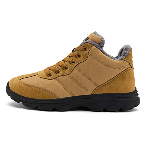 Men Winter Fluff Ankle Shoes Yellow Women TORISKY Cotton Boots Warm 1 Booties ApwTdaq