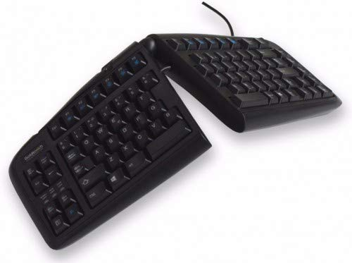 Goldtouch V2 Keyboard, Spanish Ergonomic,wired, USB & PS2, GTN-99SP (Ergonomic,wired, USB & PS2)