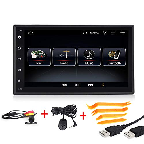 Android 8.1 Car Multimedia GPS Navigation 7 inch Touch Screen 2 Din Built in WiFi Ultra Thin Car Radio for Old car
