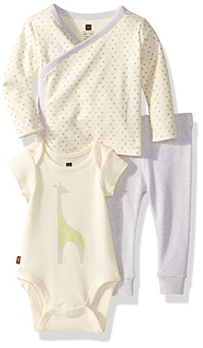 Tea Collection Baby Caesar's Giraffe Set, Multi, 0-3 (Collection Tea Clothes)