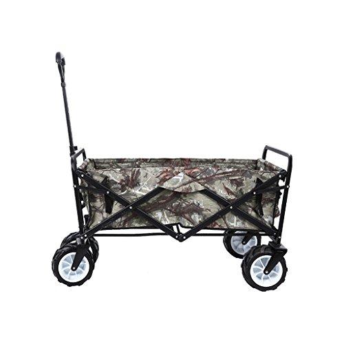 HAN Cochecito para mascotas Pet Trolley Multifuncional Plegable de Cuatro Ruedas Pet Carrito Large Dog Cart Pet Scooter...