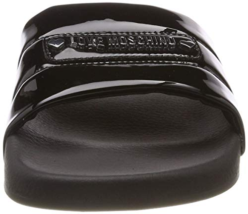 Love Sabotd 000 PuTongs Femme Noirnero Specchio Moschino pool25 nO0vNm8w