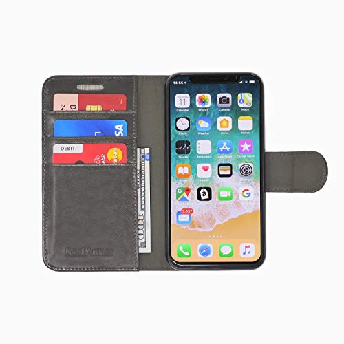 RadiArmor Anti-Radiation Case - Compatible with iPhone X/Xs - Lab Certified EMF Protection (Slate)