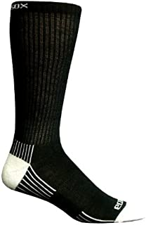 product image for Ecosox Viscose From Bamboo Men's Active Sport Crew Socks (Solid Black) 1006-4