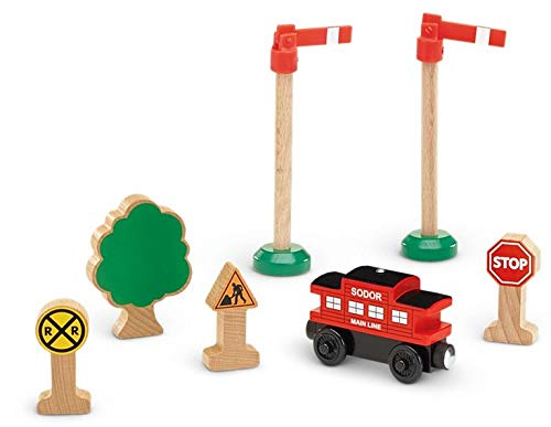 Fisher-Price Thomas & Friends Wooden Railway Caboose Accessory Bundle -