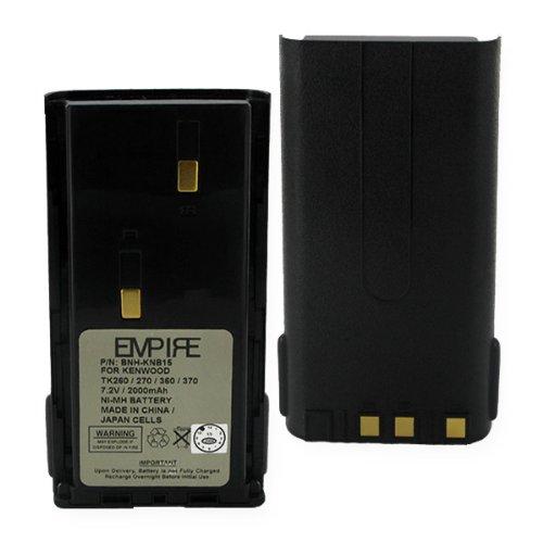 Empire BNH-KNB15 7.2V Kenwood KNB-15A Nickel Metal Hydride Batteries - 14.4 (15a Watts)