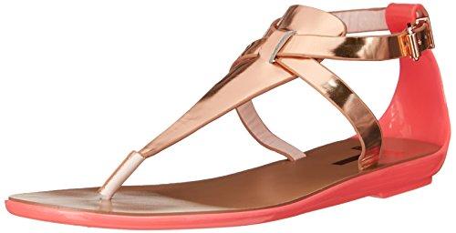 Ted Baker Women's Alzase Gladiator Sandal, Light Pink/Metallic, 8 M US