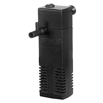 Hidom AP-600L - Filtro Interno para Acuario (300 L/h, para peceras pequeñas, hasta 60 L): Amazon.es: Productos para mascotas