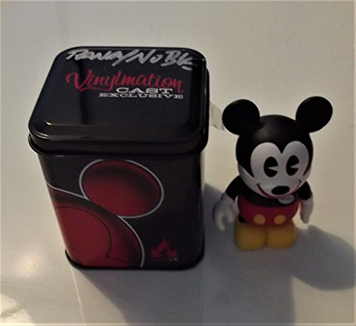 Disney Mickey Cast Member Exclusive Vinylmation, Boxed and signed by Randy (Disney Cast Member)