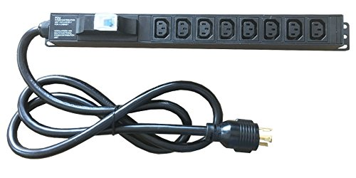 30A/240V 19 inch iec C13 Rack datacenter PDU Socket for Bitcoin Mining Machine with L6-30P