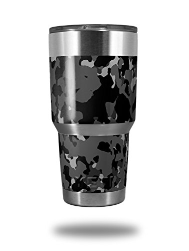 wraptorcamo-old-school-camouflage-camo-black-decal-style-skin-wrap-fits-yeti-rambler-and-walmart-oza