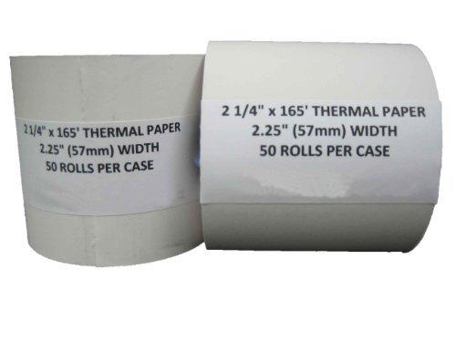 "2 1/4"" x 150' Thermal Paper (50 Rolls)"
