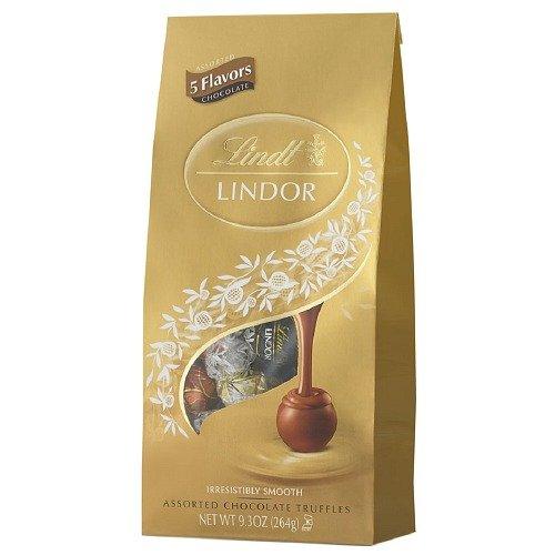 Lindt Lindor Chocolate Truffle Assortment- 5 Flavors 9.3 oz (263.65 g)- 6 PACK