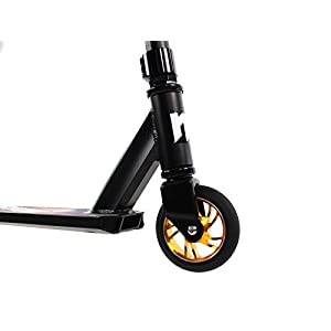 Mayhem Kick and Stunt Scooter, Galaxy Black/Gold