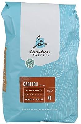 Caribou Whole Bean Coffee 40 oz. Bag (Blend Medium Roast) by Caribou Coffee
