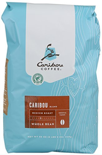 Caribou Whole Bean Coffee 40 oz. Bag (Mixture Medium Roast)