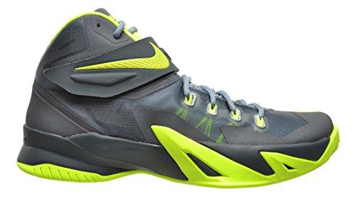 Nike Zoom Soldier VIII 8 Men's Shoes Magnet Grey/Volt-Dark Magnet Grey 653641-070 (10 D(M) US)