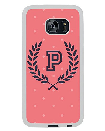 BEIWU Generic S7 Edge TPU Case,Vs Pink 3 White Carrying Case for Samsung Galaxy S7 Edge (Samsung Galaxy S7 Vs Samsung Galaxy S7 Edge)