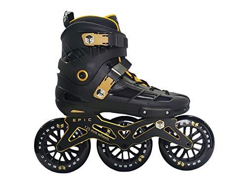 Epic Skates 125mm Engage 3-Wheel Inline Speed Skates,...
