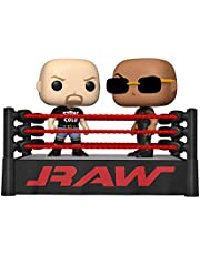 Funko Pop! Moment: WWE - The Rock vs Stone Cold in Wrestling Ring