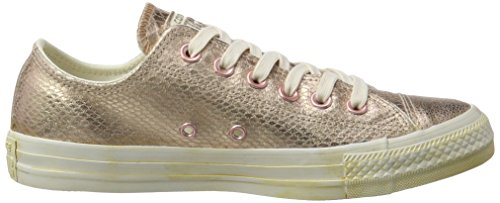 Converse All Star Ox W Calzado gold / weiß