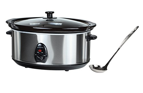 buongustaio 6 5l slow cooker sear and stew 220 240v   overseas use only  for 220 240 volt operation only  will not work in usa canada  type f  europe      220 volts kitchen appliances  amazon com  rh   amazon com