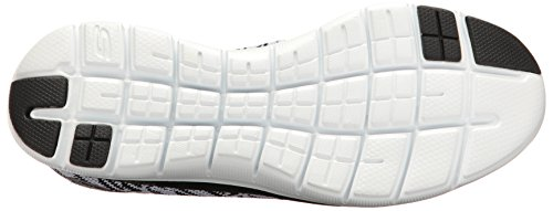 Skechers Sneaker White 0 Black Appeal Donna Flex Insights Infilare 2 Bianco rXFrWpw6q