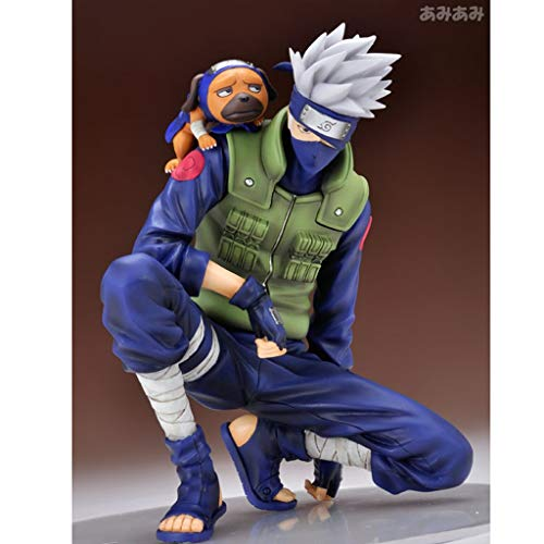JSFQ Toy Statue Naruto Toy Model Cartoon Character Decoration/Collectibles/Crafts/Kakashi 16cm