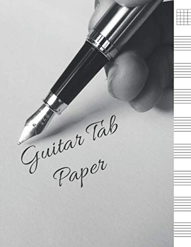 - Guitar Tab Paper: Blank Sheet Music For Guitar, Music Manuscript Paper, 6 String Chord, Staff and Title Music Paper For Guitar Players, Musicians, Teachers and Students (100 Pages 8.5 x 11 )
