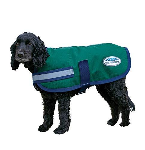 - Weatherbeeta Parka 1200D Dog Coat Hunter/Navy 28