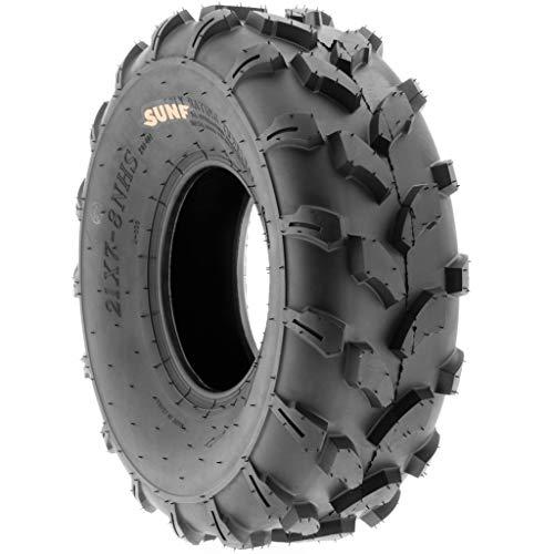 Set of 2 SunF  Off Road ATV UTV Tires 18x7-8 18x7x8 A//T 6 PR A003 Tubeless