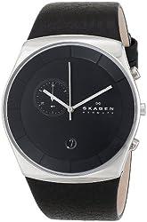 Skagen Men's SKW6070 Havene Stainless Steel Watch with Black Band