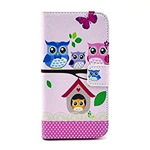 LZX The Owl's Home Pattern Full Body Case for Samsung Galaxy S4 I9500