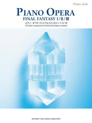 - Final Fantasy Opera Music I II III Japan RPG Game Piano Score Book NEW