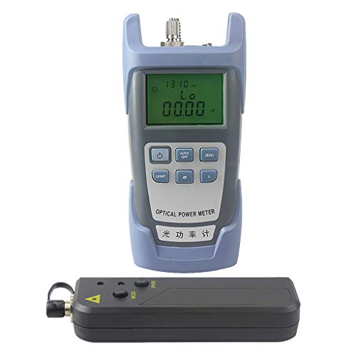 Baosity AUA-9 Fiber Optic Cable Tester Optical Power Meter with Sc & Fc Connector Fiber Tester + 20mW Visual Fault Locator Equipment for CATV Test,CCTV Test by Baosity (Image #2)
