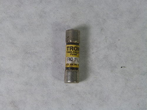 Tron FNQ-1-1/4 Time Delay Fuse 1-1/4amp (Delay Tron Fuse Time)